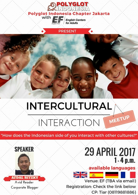Polyglot Indonesia Meetup - Intercultural Interaction