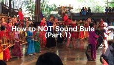 How to Not Sound Bule